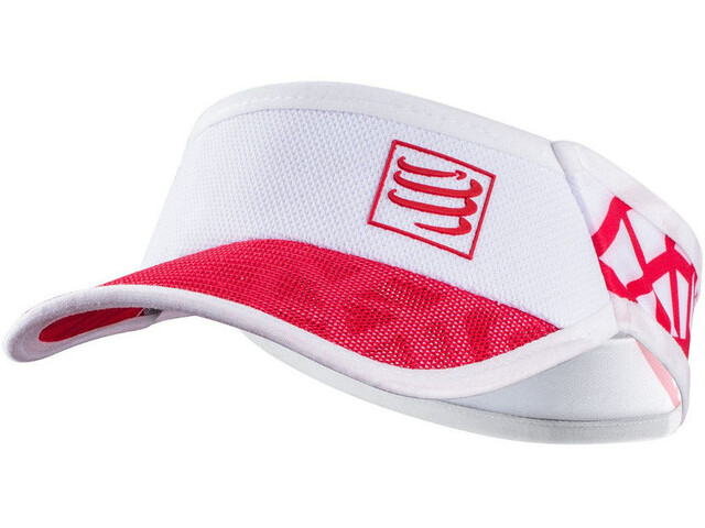 Compressport Spiderweb - Couvre-chef - rouge/blanc